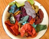 2 packs of hand dyed fabric scraps for suli