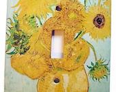 Van Gogh Sunflowers Switchplate