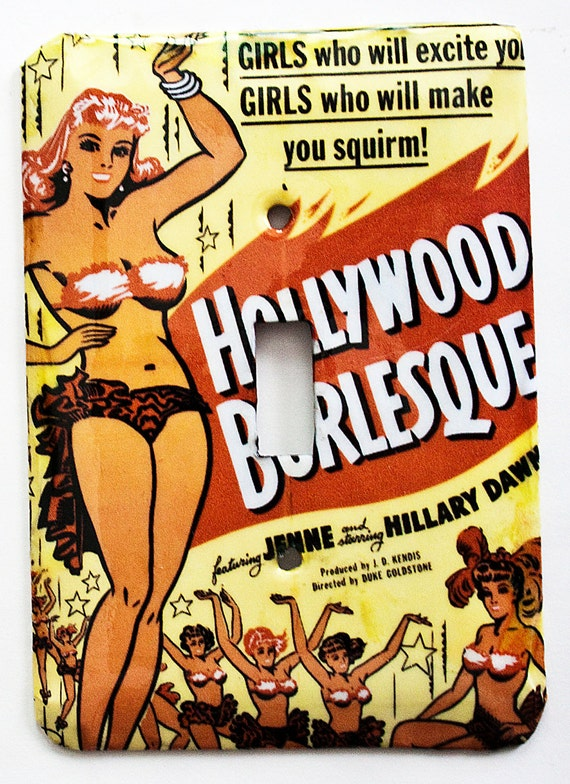 Hollywood Burlesque Switchplate