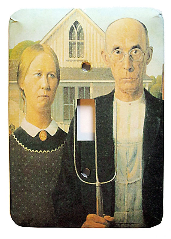 American Gothic Switchplate