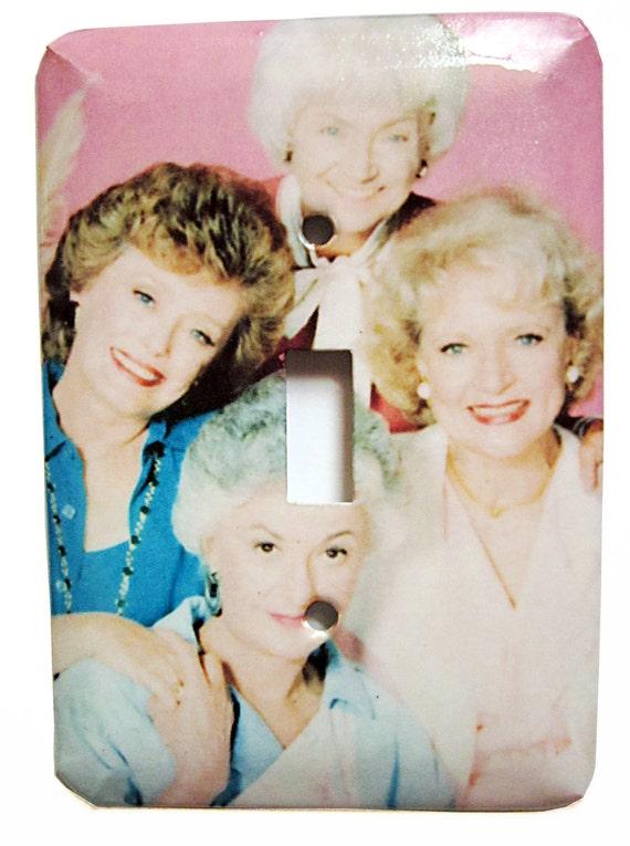 Golden Girls Switchplate