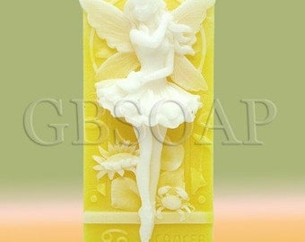 Zodiac Cancer Fairy handmade soap