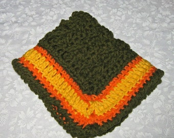 Crochet Wash cloths or Dishcloths or a red hot scrubber