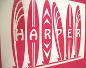 Surfboard Prints- Personalized