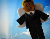 Obama Angel Felt Finger Puppet