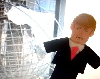 President Donald Trump Felt Finger Puppet Presidential Toy Trump Doll President of the United States of America