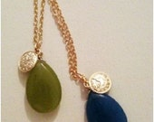 olive time long necklace