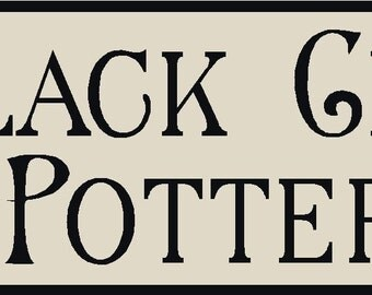 Black Crow Pottery Stencil 7 mil reusable