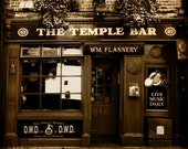 The Temple Bar 5x5 Photography Print