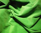 Kelly Green Medium Wale Corduroy Fabric