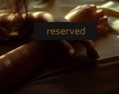 RESERVED ---- 50 % OFF - Hands - 8x8 Fine Art Photograph - SALE