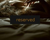 RESERVED --- 50% OFF - Golden - 5x5 Fine Art Photograph - SALE