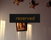 RESERVED --- 50% OFF - Wall - 8x8 Fine Art Photograph - SALE