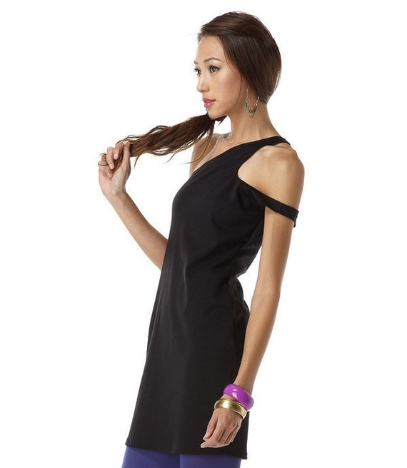 Womens Dress Clothing Side Curve Roma Black Small