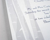 Custom Order for klb913 - Oak tree invitation set
