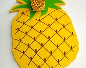 Wooden Pineapple Clipboard, Made in Japan, Yellow Pineapple, Wood  (396-12)