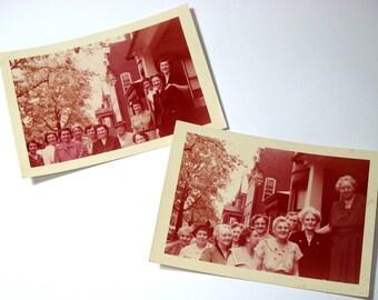 Vintage Photographs Women 1954  (410-10)