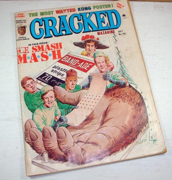 Vintage Cracked Magazine, Smash Mash, Kong Poster, July 1977  (7329)