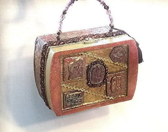 70% CLEARANCE SALE, Art Nouveau, bronze, jewelry box, purse, wearable art