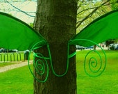 Celeste Wings in Green