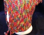 Adult Rainbow Pixie Hood