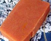 Pumpkin Pie Scented Lye Soap   CLEARANCE