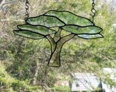 Tree of Life   Beveled stained glass african savannah tree light sun catcher
