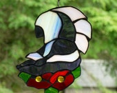Skunk  in Stained Glass  No odor from this beauty