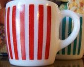 Stripey and Pleasing Slightly Patriotic Mugs