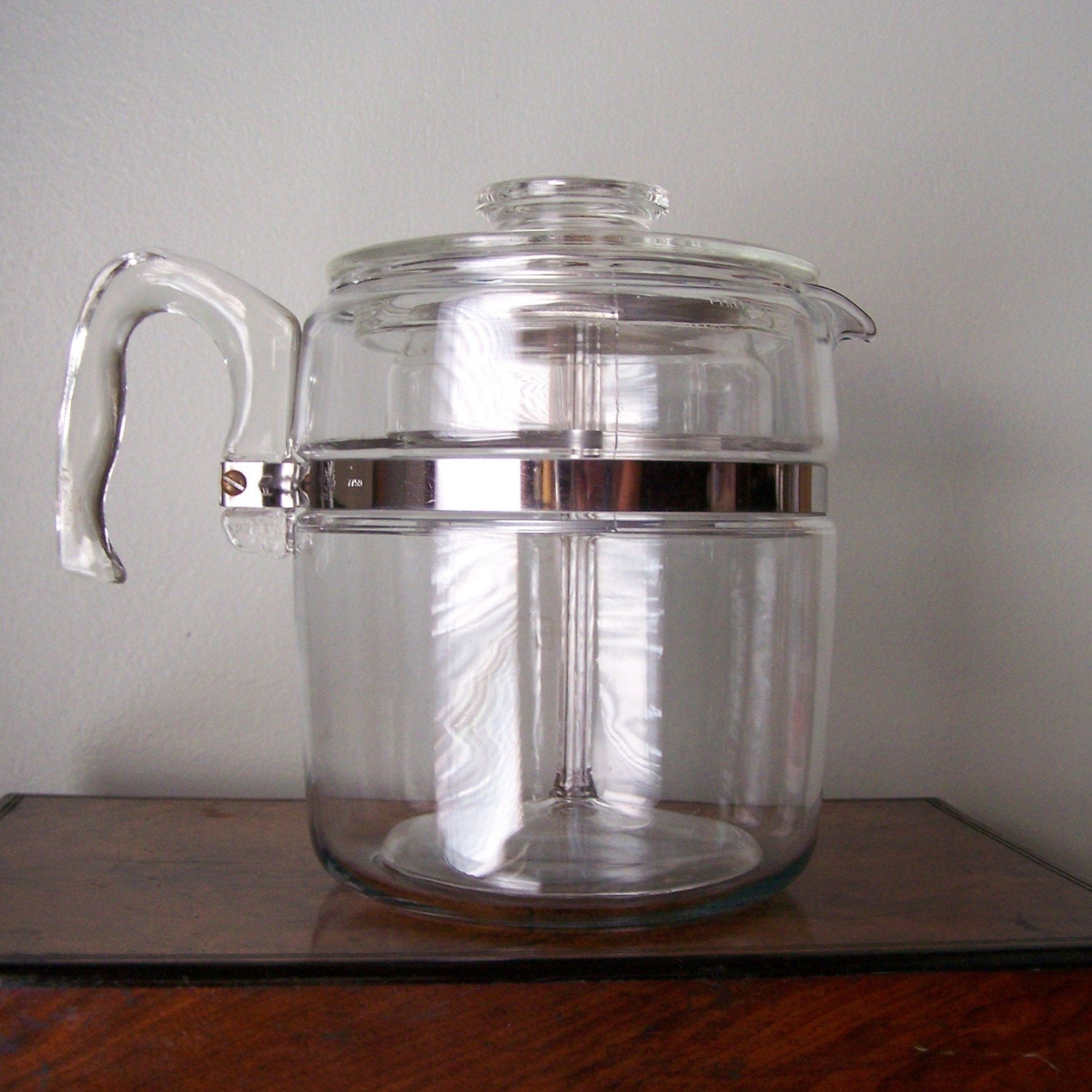 Pyrex Coffee Maker How To Use : Vintage Glass Pyrex Coffee Percolator Large 9 Cup Carafe