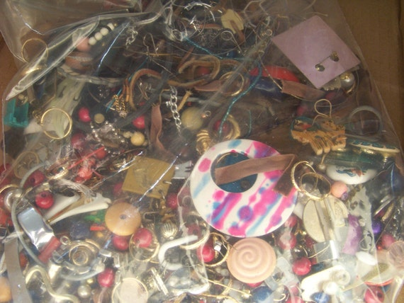 Junk Jewelry Destash One