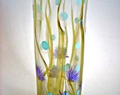 Enchanted Lake - Hand Painted Vase
