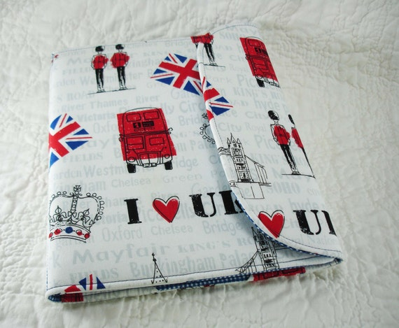 iPad Mini, Kindle Cover, Kindle Fire Cover, Nook Cover, Kobo Cover, eReader Cover, Book Style, London Calling