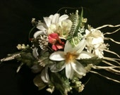 RESERVED for Audrey - Bridesmaid Bouquet - Free Shipping