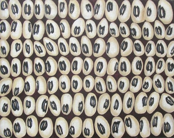 Black Eyed Peas Original Painting - Abstract Original Beans Collection Repetition Wall Art