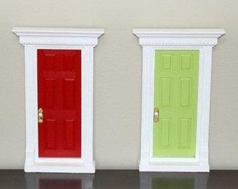 Popular items for fairy door on etsy for Unpainted fairy doors