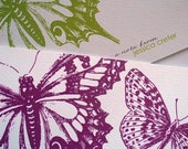 Butterfly Personalized Notecards