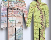 Where We're From boy/boy - Love Vintage Map Figures