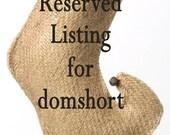 Reserved listing domshort