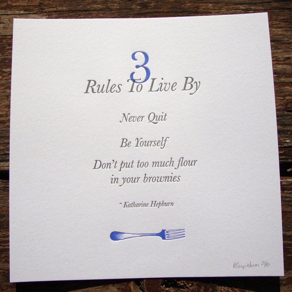 three rules by which i live Forty-three percent of snap participants live in a household with earnings some of these working individuals are abawds, or able-bodied adults without dependents abawds must meet special work requirements, in addition to the general work requirements, to maintain their eligibility.
