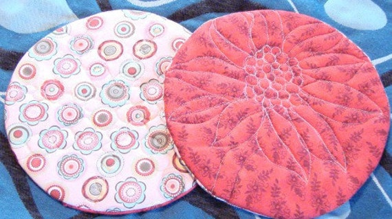 Quilted Pot Holder Set SALE