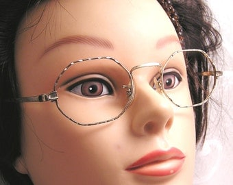 Vintage Gold Filled Eye Glasses Frames from the late 1960s to 1970s (J49)