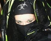 Glow GID Cyber BioHazard  Headband MTcoffinz