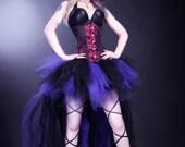 Dark Purple Black Trashy Formal Bustle TuTu Adult All Sizes MTCoffinz