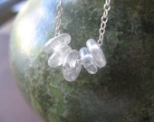 Happiness Is....in Icicle - a Charming Little Necklace - sweet - fun - delicate - daughter - gift