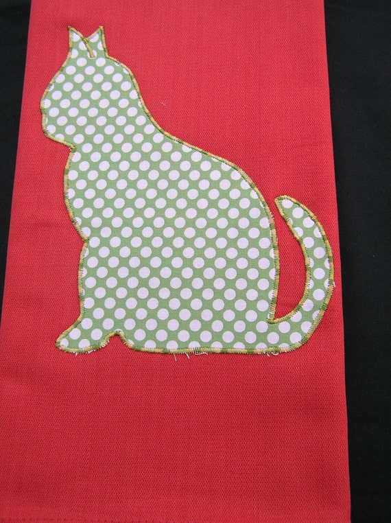 Tea Towel Pussy Cat (300)