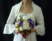 Custom made--- Handmade Bridal Shrug