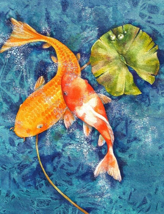 Koi Fine Art Print