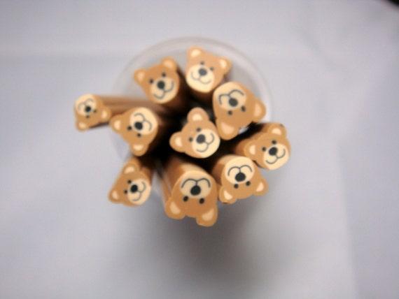 Dollhouse Miniature - Teddy Bear Cane - SUPPLIES