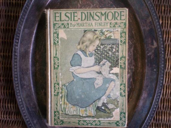 Vintage Elsie Dinsmore Book by Martha Finley